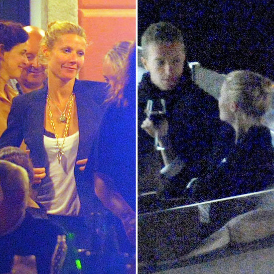 Gwyneth Paltrow Celebrates 40 on a Yacht With Chris Martin and Friends