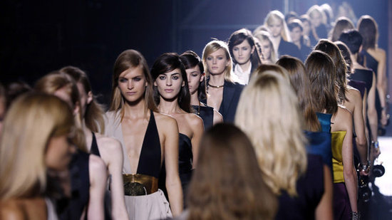 Get the Tuxedo-Inspired (and Jewel-Toned) Scoop on Lanvin Spring '13