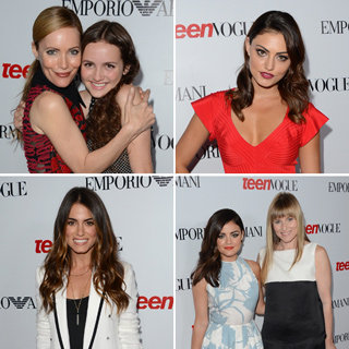 Phoebe Tonkin, Nikki Reed, Cody Horn, Hailee Steinfeld, Judd Apatow, Leslie Mann At Young Hollywood Party