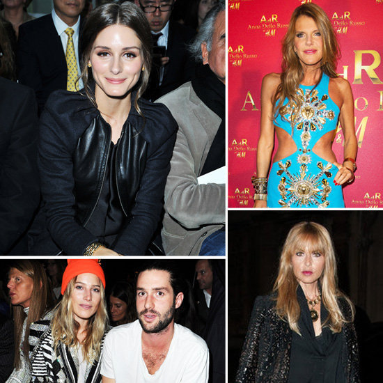 Anna Dello Russo's H&M Launch Party Inspired Some Amazing PFW Looks