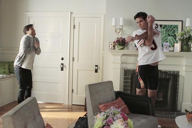 Adam Pally and Matthew Del Negro on Happy Endings.