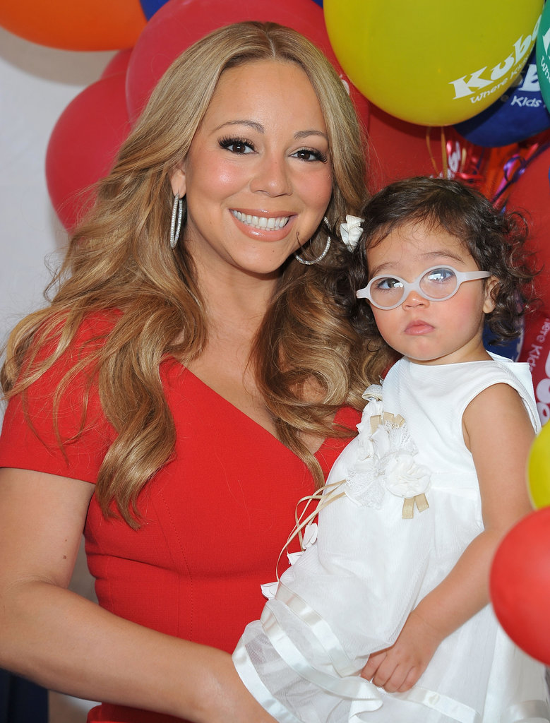 Mariah Carey posed with Monroe Cannon.