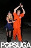 Heidi Montag laid down the law with Spencer Pratt in LA in 2008.
