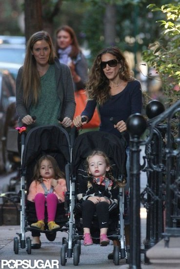 Sarah Jessica Parker Gets the Week Started With Her Little Ones