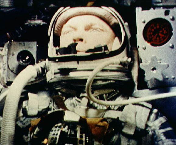 John Glenn, First American to Orbit the Earth