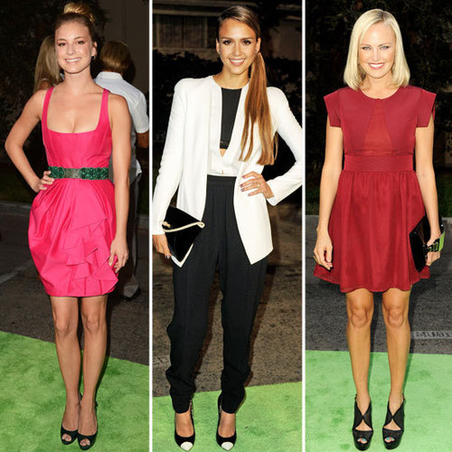Jessica Alba, Julie Bowen + More Dress Up at the 2012 Environmental Media Awards: Who Was Best Dressed?