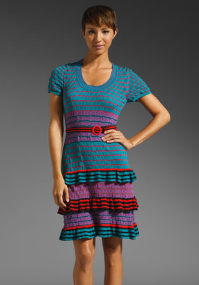 ShopStyle: Nanette Lepore Snuggle Up Knit Sugar Maple Dress