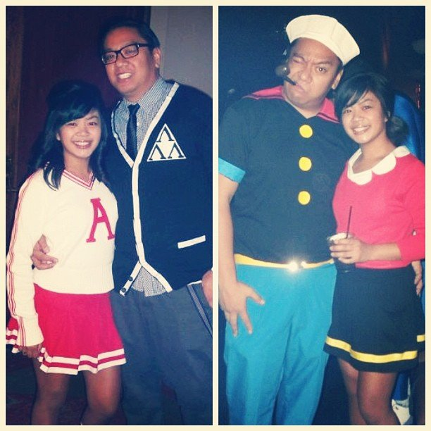 Revenge of the Nerds / Popeye and Olive Oyl