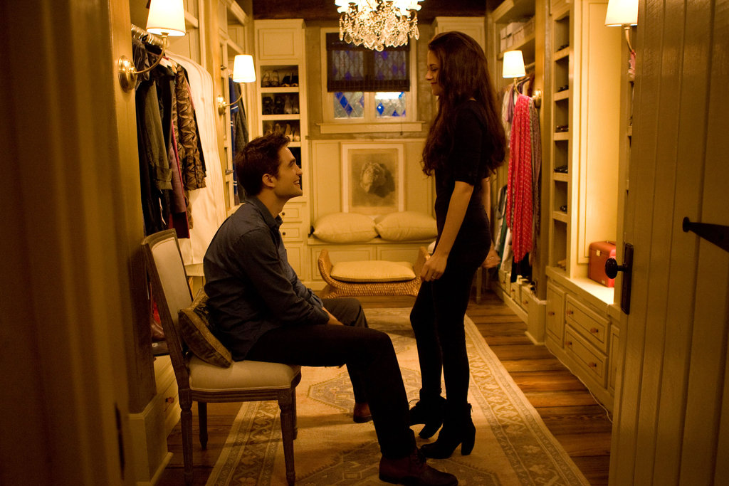 Bella and Edward in Breaking Dawn Part 2.