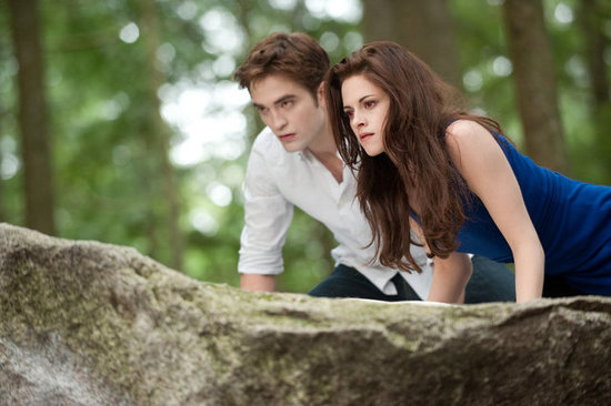 Bella and Edward go hunting in Breaking Dawn Part 2.