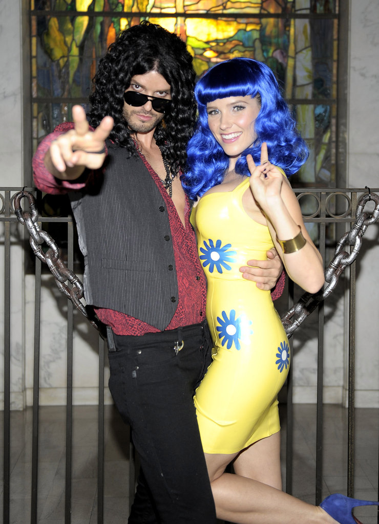 Sophia Bush and Austin Nichols went as Katy Perry and Russell Brand at an LA function in 2010.
