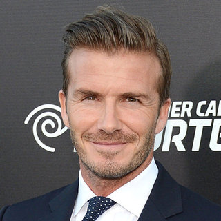 David Beckham Talking About Harper (Video)
