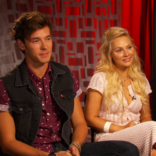 Sam Palladio and Clare Bowen Interview For Nashville (Video)