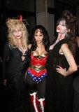 Kim Kardashian had a super Halloween in 2008 with friends in LA.