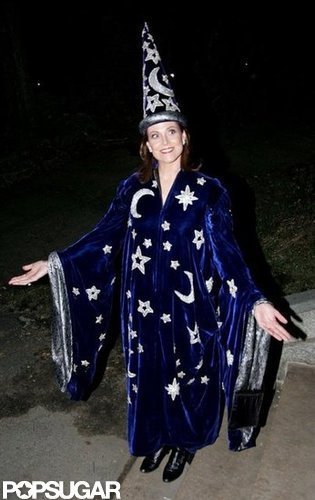 Sigourney Weaver was a wizard for Halloween 2005 in NYC.