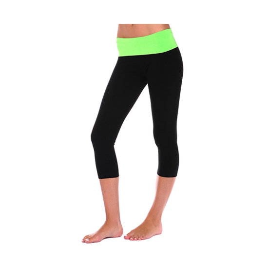 Rollover Capri Pant