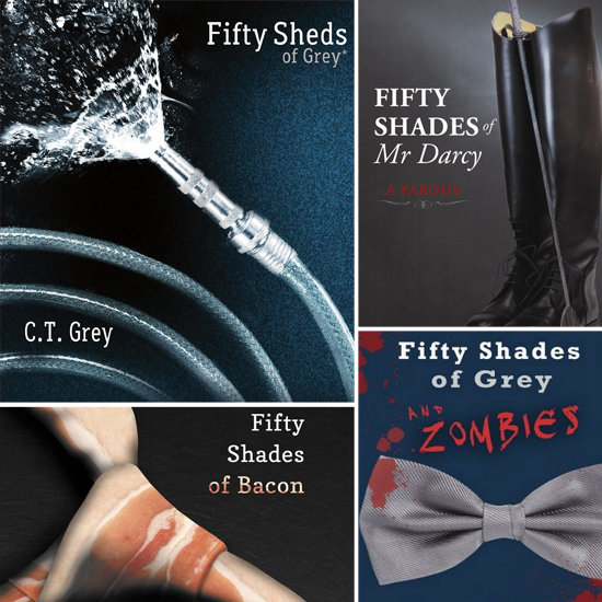 50 Books Inspired by 50 Shades of Grey