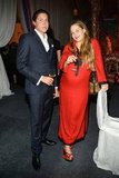 Vito Schnabel and Jemima Kirke attended the Studio in a School's 35th Anniversary Gala at NYC's Seagram Building.