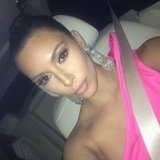 Kim Kardashian showed off her impressive jewels. Source: Instagram user kimkardashian