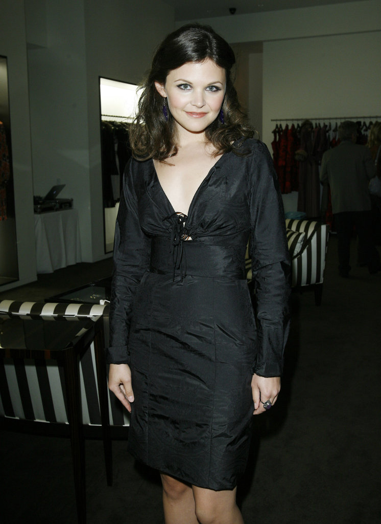 Ginnifer Goodwin attended a November 2006 Carolina Herrera and Vogue-sponsored party to benefit breast cancer research in LA.