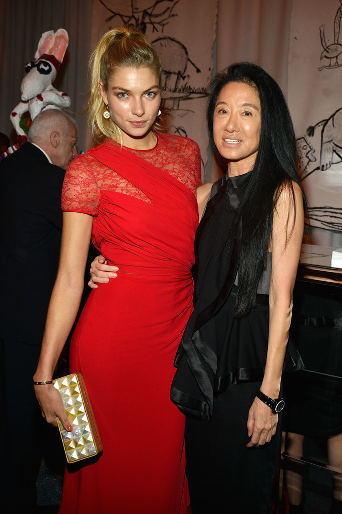 Vera Wang and Jessica Hart attended the Studio in a School's 35th Anniversary Gala at NYC's Seagram Building.