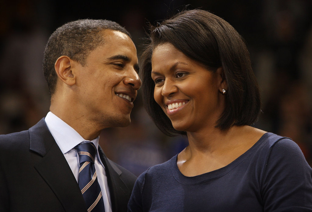 """If you were going to list the 100 most popular things that I have done as president, being married to Michelle Obama is number one."" — Barack on his marriage to Michelle"
