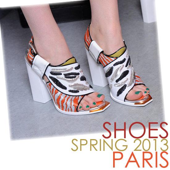 Spring 2013 Shoes | Paris Fashion Week
