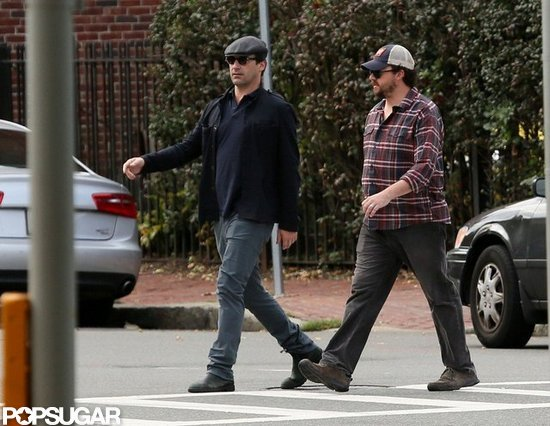 Jon Hamm and Danny McBride explored Boston.