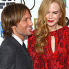 Keith Urban With Wife Nicole Kidman As She Gets Honoured At New York Film Festival