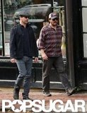 Jon Hamm and Danny McBride were in Boston.