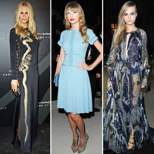 All The Front Row And After Party Pictures From Paris Fashion Week 2012