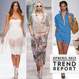 Paris Fashion Week Spring 2013 Trends