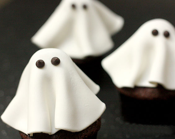 Ghost Cupcakes