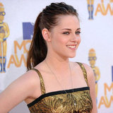 We love Kristen in a pony tail! effortlessly gorgeous in 2010.