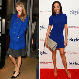 Blue and Orange Combo (Celebrity Trend)