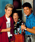 Zack, Screech, and Slater From Saved by the Bell What to wear for Zack: Two words: frosted tips. Once you've got that, throw in a pair of high-tops and a button-down denim shirt (tucked in, Preppy). What to wear for Screech: Pull your baggy printed pants up with some suspenders, and wear a loud button-down underneath. What to wear for Slater: Acid-washed jeans, black T-shirt, and a colorful button-down with the sleeves rolled up to show off your muscles. How to act: Like you're dodging Mr. Belding.