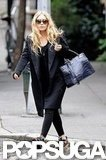 Ashley Olsen went for a walk in NYC.
