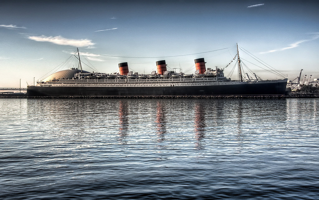 Queen Mary in California