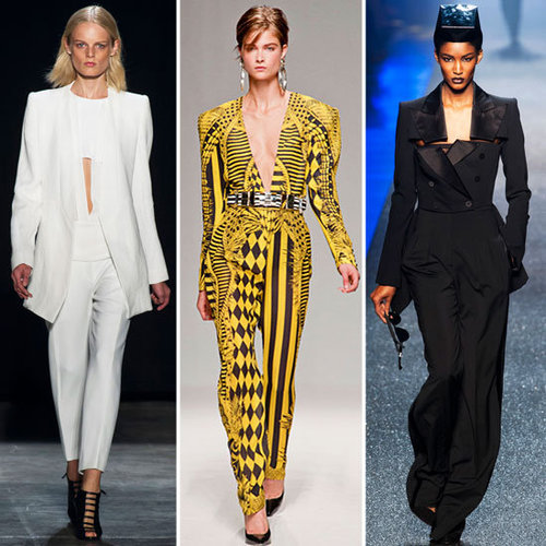 Would you Wear the Strong Shouldered Look from the 2013 Spring Runways: Stella McCartney, Balmain and Altuzarra are fans . . .