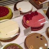 Thankfully, there was just enough time between shows to stop at Pierre Hermé for its famed treats.