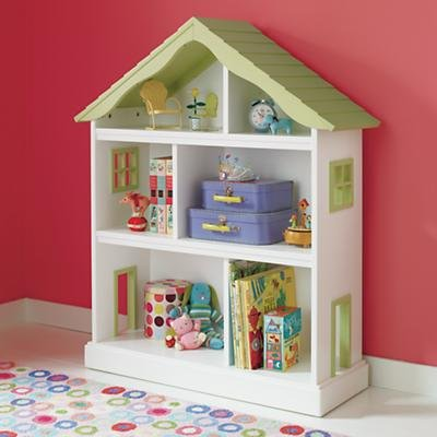 Land of Nod Dollhouse Bookcase