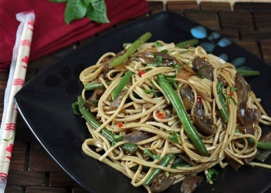 Spicy Eggplant Stir-Fry