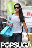 Katie Holmes Stays Fit and Healthy in NYC