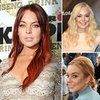 Pictures: Lindsay Lohan's Hair Colours And Styles Over One Year
