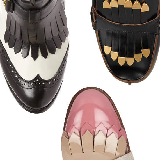The Best Fringed Shoes and Brogues | Fall 2012 Trends