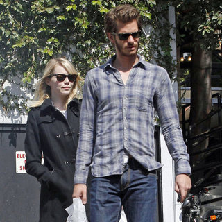 Andrew Garfield and Emma Stone in LA | Pictures