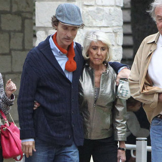 Matthew McConaughey Looking Thin at Church | Pictures