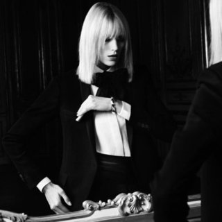 Anja Rubik For Saint Laurent | Spring 2013 Pictures