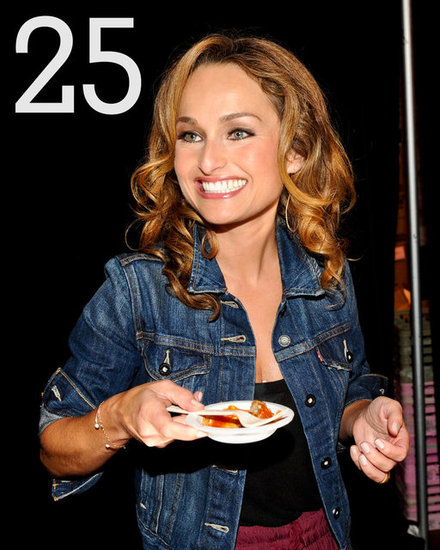 25: The number of meatballs Giada judged at last year&#039;s Meatball Madness.