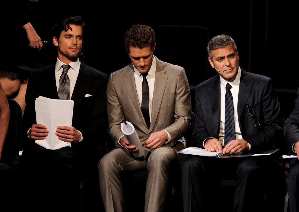 Matt Bomer teamed up with Matthew Morrison and George Clooney for a live reading of 8 presented by LA's American Foundation For Equal Rights & Broadway Impact in March 2012.